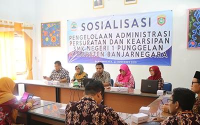Sosialisasi Persuratan dan Kearsipan dari Dinas Kearsipan dan Perpustakaan Provinsi Jawa Tengah