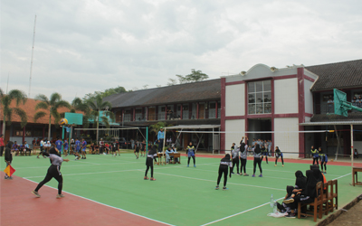 Lomba Voly tingkat SMP/MTs HUT 14 SMKN 1 Punggelan